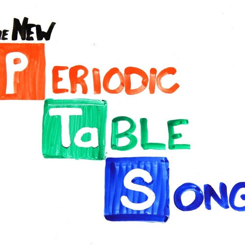 The Periodic Table Song (In Order)