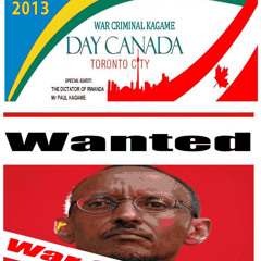 More than 3500 People will protest in Toronto against war criminal Paul Kagame Sept 28/2013