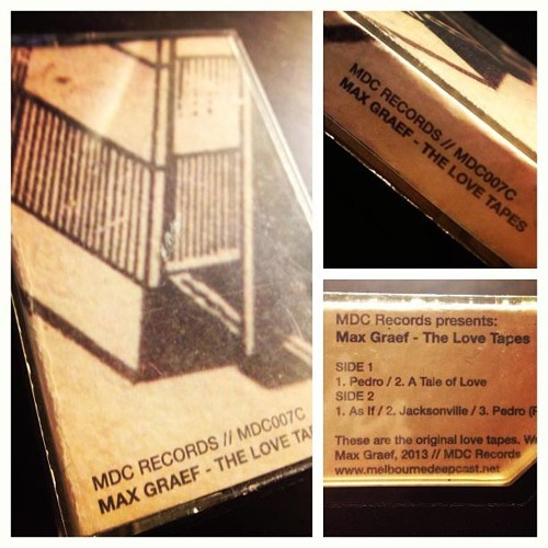 (MDC007C): Max Graef - Pedro (Raw Mix) (Tape Exclusive)