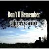 Aji_Don't U Remember