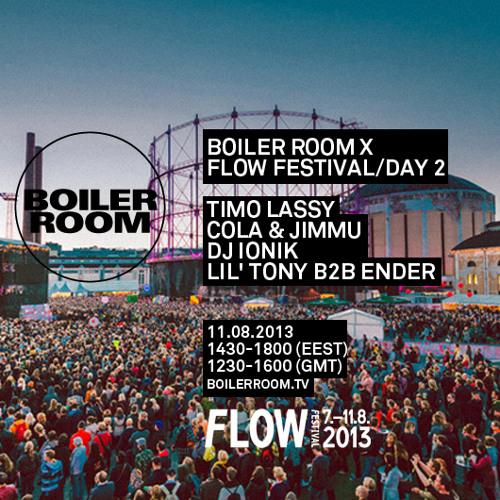 DJ Ender 40 min Boiler Room x Flow Festival mix