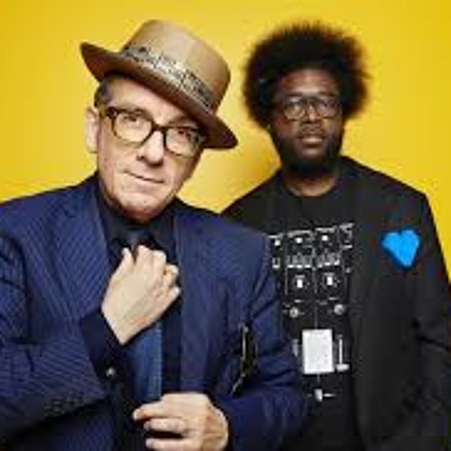 """""""Walk Us Uptown"""" - Elvis Costello and The Roots (Live)"""