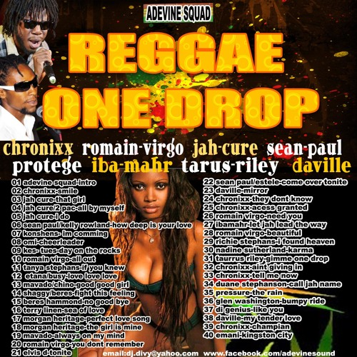 Adevine squad-reggae one drop - september 2013