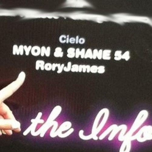 RoryJameS Live @ Cielo (NYC) - OPENING SET for Myon & Shane 54  8 31 2013