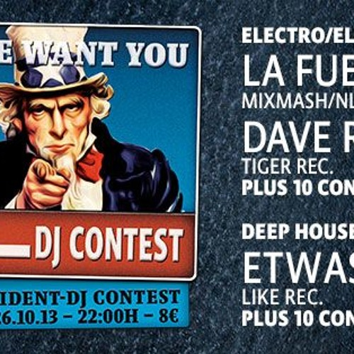 Bootshaus 'WE WANT YOU' DJ Contest