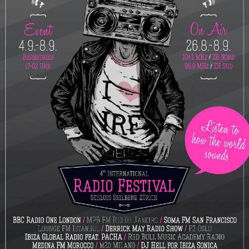 Live @ International Radio Festival(Zurich) - 06.09.13