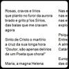 Poema, Opus N.º 8