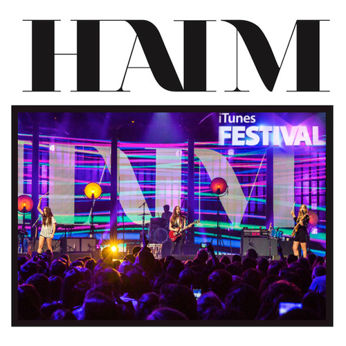 HAIM - The Wire (Live at iTunes Festival 2013)