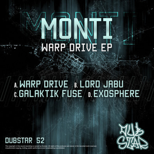 Lord Jabu - Monti [Dubstar Records 052] OUT NOW