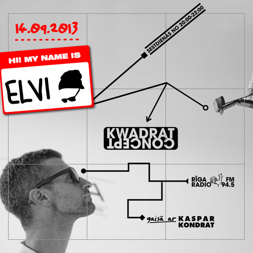 ELVI SOULSYSTEMS @KWADRATConcept @RigaRadio 2013.09.14