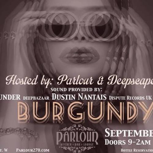 Live at Parlour, Toronto Canada - September 20, 2013