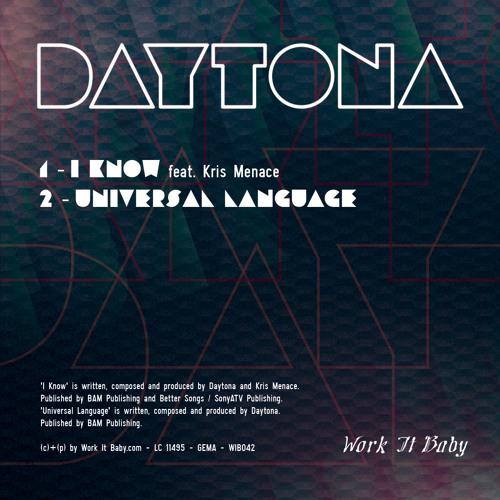Daytona Feat. Kris Menace - I Know (WIB042 Extract)