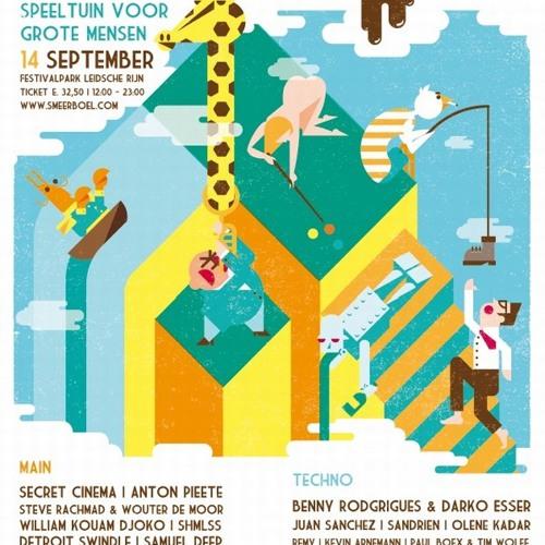 Kevin Arnemann - Live @ Smeerboel Festival 14-09-2013