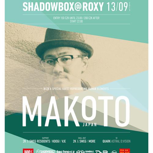 MAKOTO live @ SHADOWBOX - ROXY, Prague - 13.9.2013