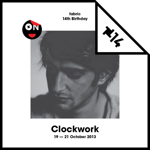 Clockwork - fabric Is 14 Birthday Promo Mix