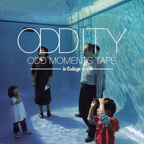 Odd Moments tape for @le collage