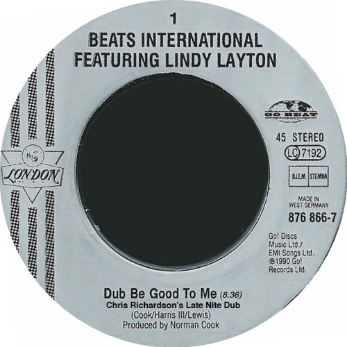 FREE DOWNLOAD: Beats International ft Lindy Layton | Dub Be Good.. [Chris Richardsons Late Nite Dub]
