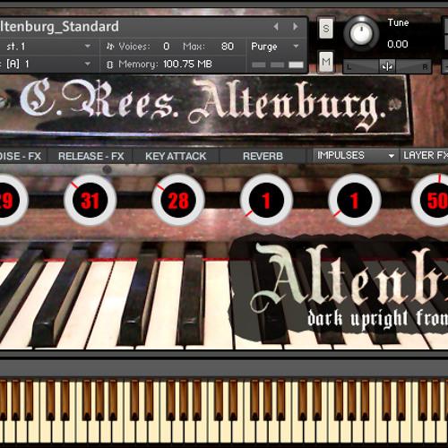 ALTENBURG UPRIGHT & more ALL DEMOS