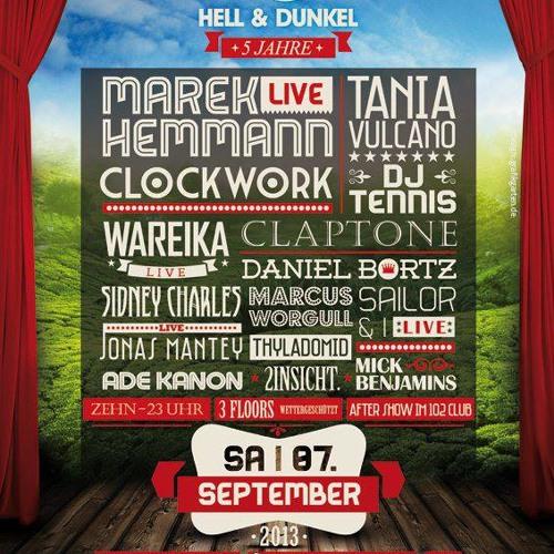 Mick Benjamins @ Hell & Dunkel Festival 2013