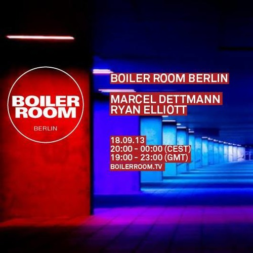 Marcel Dettmann B2B Ryan Elliott 60 Min Boiler Room Berlin Mix