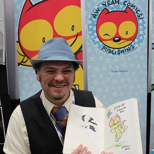 Comic artist Art Baltazar