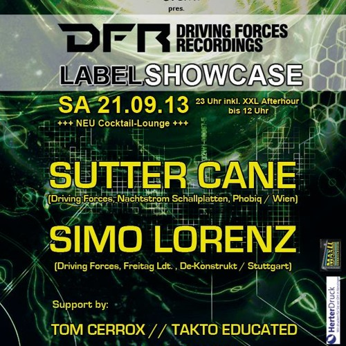 Simo Lorenz - Live At DFR Night Inside Emmendingen 21.09.2013