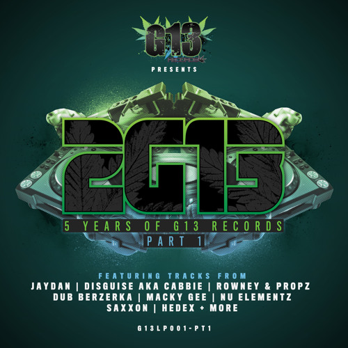 G13LP001-PT1 - VARIOUS ARTISTS - 2G13 LP - G13 RECORDS - OUT NOW!!!!