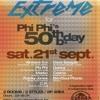 PHI-PHI @ PhiPhi's 50th Bday @ Cherry moon (Lokeren - BE)the 21st of september 2013