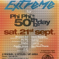 PHI-PHI @ PhiPhi's 50th Bday @ Cherry moon the 21/09/ 2013