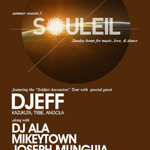 Live from Souleil San Diego 09.22.2013 - Djeff Afrozila