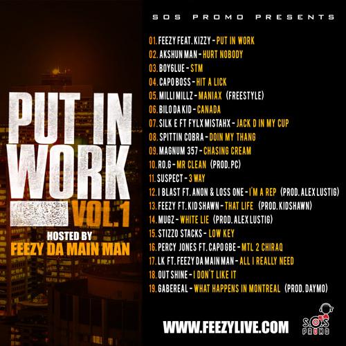 SOS Promo Presents: Put in Work Vol.1