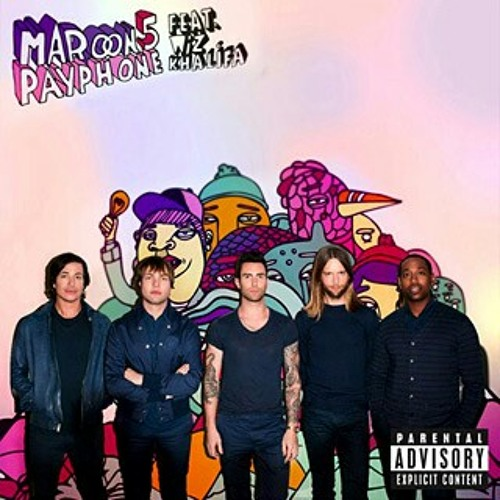 Maroon 5 - Payphone (cover, guitar by @sidiq_frds)