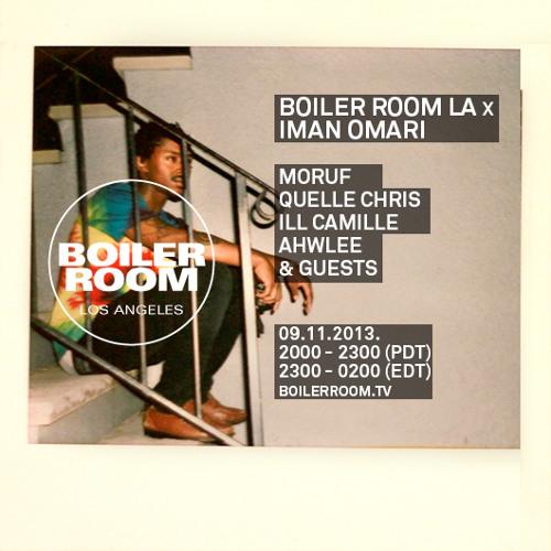 Iman Omari 50 Min Mix Boiler Room LA