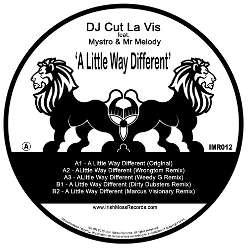Little Way Different - Marcus Visionary Rmx - OUT NOW