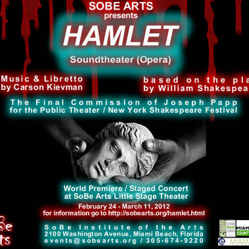 Overture (long excerpt) from HAMLET Opera/Soundtheater