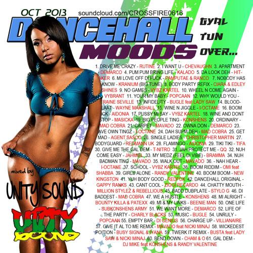 Unity Sound - Dancehall Moods 4 - Gal Tun Ova Mix - Oct 2013
