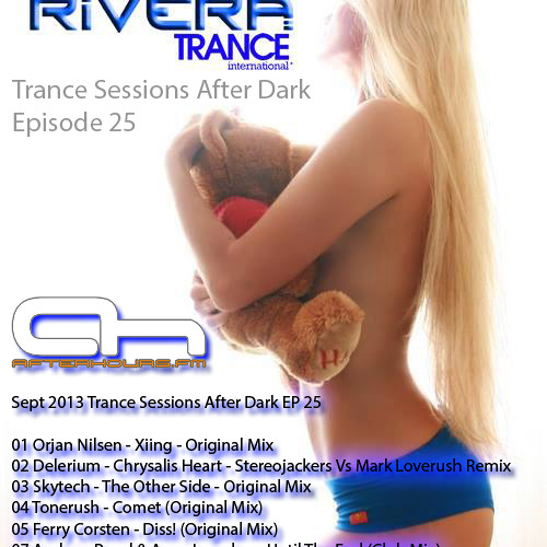 AH.FM Broadcast Ted Rivera Trance Sessions After Dark 025