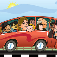 Cover mp3 The Wheels On The Bus : EFlashApps Nursery Rhymes,