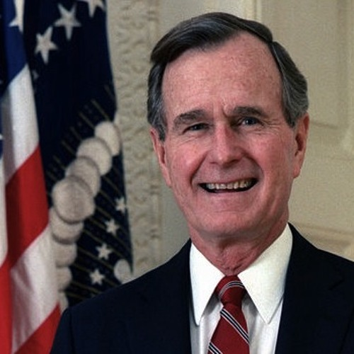 US-Poland Ties Underscored  in Krakow by Vice President Bush During 1987 Visit