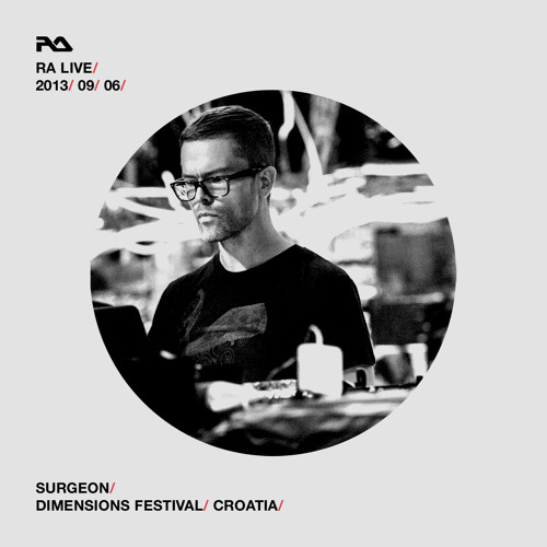 RA Live - 2013.09.06 - Surgeon at RA Moat, Dimensions Festival