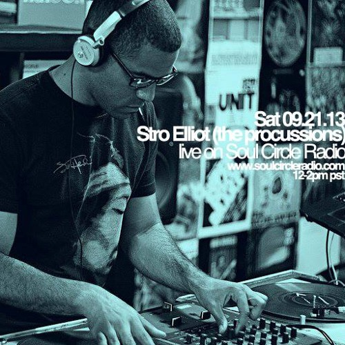 SCR Presents Stro Elliot (Procussions) DJ set