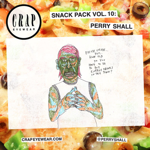 CRAP Eyewear Snack Pack Volume 10: Perry Shall
