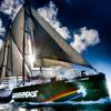 On deck with the Rainbow Warrior
