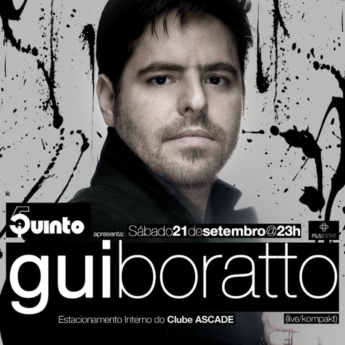Junior C @ 5uinto Apresenta Gui Boratto