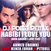 Ahmed Chawki Feat. Kenza Farah & Pitbull - Habibi I Love You Remix  Dj Poma