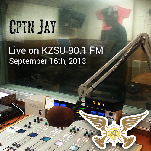 "Cptn Jay - Live on KZSU's ""Big Love Show"" - 9/16/2013"