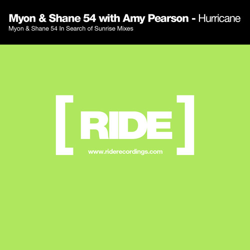 Myon & Shane 54 with Amy Pearson - Hurricane (Radio Edit)