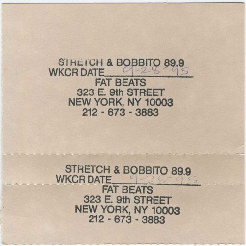 Stretch Armstrong & Bobbito - 28 September 1995 Side A
