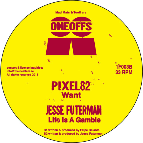 Jesse Futerman - Life Is A Gamble (1F003, Side B2) (Snippet)