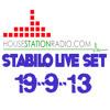 DJ Stabilo live housestationradio set 19-9-13